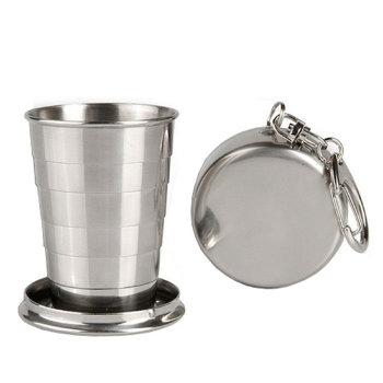 Складной стакан с карабином (100 мл)
