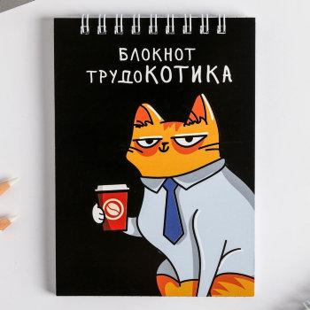 """Блокнот """"Записки трудокотика"""" (А6, 40 листов)"""