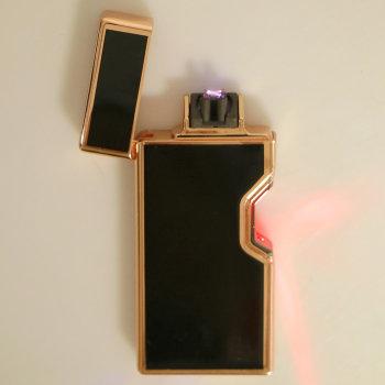 """Дуговая USB зажигалка """"Элегант"""" с сенсорным поджигом"""
