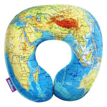 """Подушка """"Карта мира"""" (34 х 34 х 10 см)"""