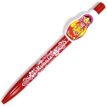 """Ручка """"Матрёшка"""""""