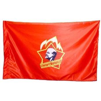 Флаг пионерской организации (135 х 90 см)