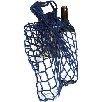 Авоська синего цвета (выдерживает до 50 килограмм)