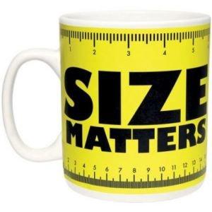 """Кружка """"Size Matters"""" (900 мл)"""