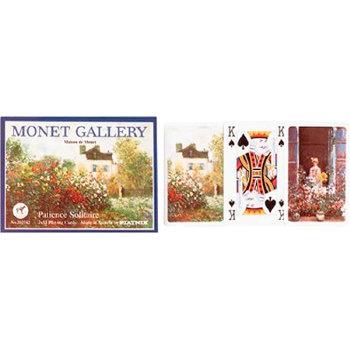 """Пасьянсные карты """"Monet Gallery"""" (Piatnik, две колоды по 55 карт)"""