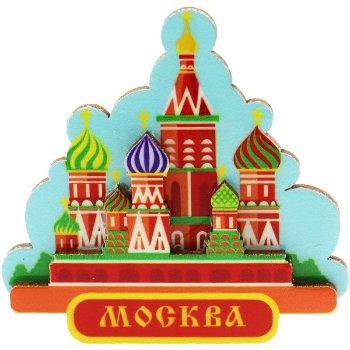 """Магнит """"Собор св. Василия Блаженного"""""""