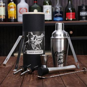 """Набор для приготовления коктейлей """"Gentlemen's bar"""" (8 предметов)"""