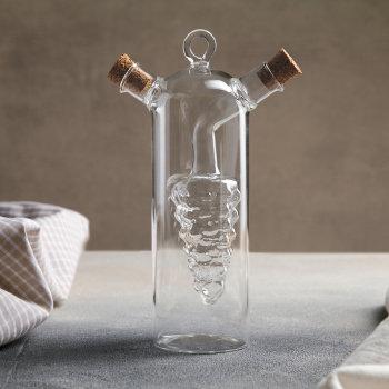 "Бутылка для масла и уксуса ""Виноград"" (300 и 50 мл)"