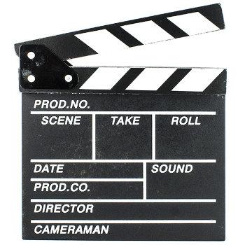 Сувенирная режиссёрская кинохлопушка (20 х 20 см)
