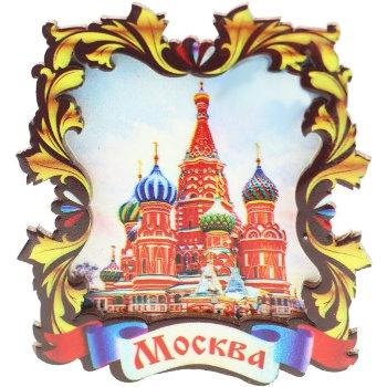 """Магнит """"Собор Покрова на Рву"""""""