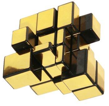 """Головоломка """"Зеркальный кубик"""" золотого цвета"""