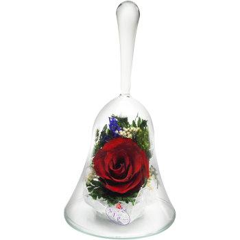 Роза в стекле ObSR2 (14,5 см)