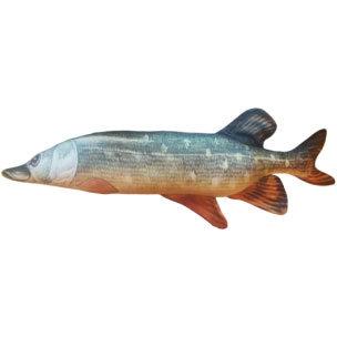 """Подушка в виде рыбы """"Щука"""" (65 см)"""