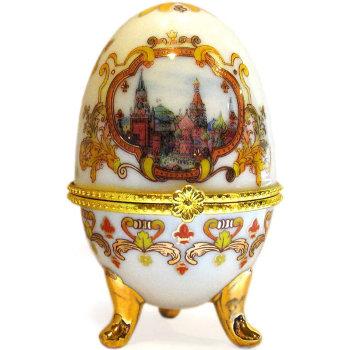 "Яйцо-шкатулка ""Красная площадь"" (10 см)"