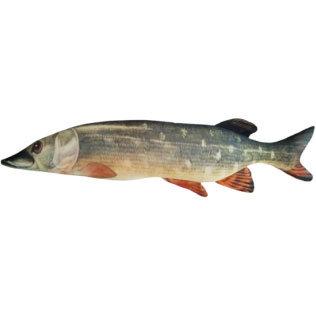 """Подушка в виде рыбы """"Щука"""" (51 см)"""