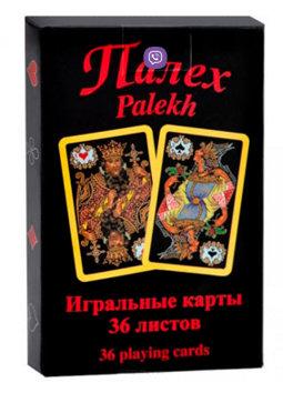 Коллекционные игральные карты в стиле Палех (Piatnik, 36 карт)