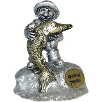 """Статуэтка """"Лучшему рыбаку"""""""