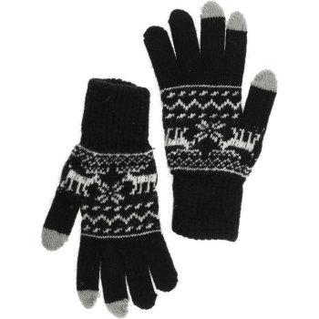 """Рассказовские перчатки для сенсорного экрана """"Лоси"""" (женские, 18 размера)"""
