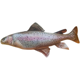 """Подушка в виде рыбы """"Форель"""" (65 см)"""