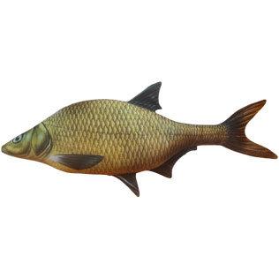 """Подушка в виде рыбы """"Лещ"""" (65 см)"""