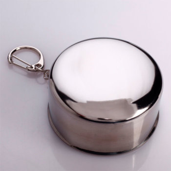 Складной стакан с карабином (150 мл)