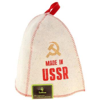 "Шапка для бани ""Made in USSR"""