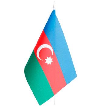 Настольный флаг Азербайджана (22 х 14 см)