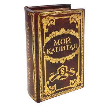 "Книга-сейф ""Мой капитал"" (17 х 11 см)"