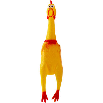 """Игрушка-пищалка """"Кричащая курица"""" (30 см)"""
