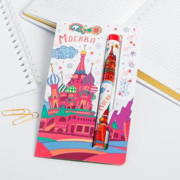"""Ручка """"Рисованная Москва"""" (12,5 см)"""