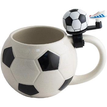 "Пивная кружка ""Футбол"" со звонком (560 мл)"