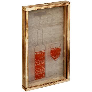 """Копилка для винных пробок """"Красное вино"""" (48 х 28 х 5 см)"""