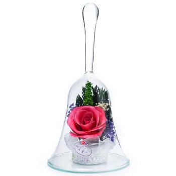 Роза в стекле ObSRp (14,5 см)
