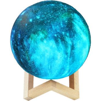 """Ночник """"Планета"""" на деревянной подставке (15 см)"""