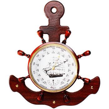 "Барометр ""Большой якорь"" с термометром 42 х 34 х 6 см (Утёс)"
