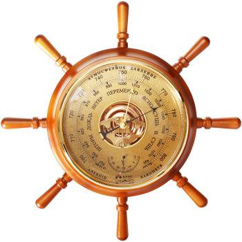 "Барометр ""Штурвал М"" с термометром 34 см (Утёс)"