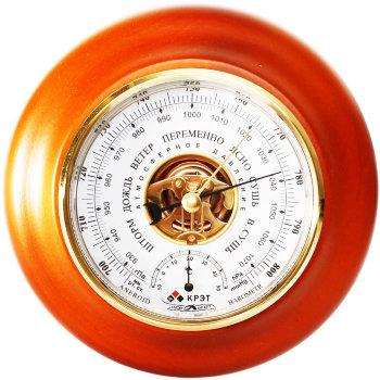 Барометр БТК-СН-18 с термометром 21 см (Утёс)