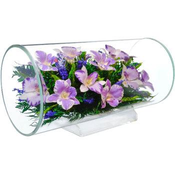 Орхидеи в стекле TJO (32 см)
