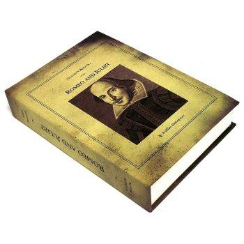 """Книга-сейф """"Ромео и Джульетта"""" с имитацией бумажных страниц (21 х 14 х 5 см)"""
