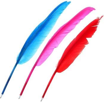 Шариковая ручка в виде пера