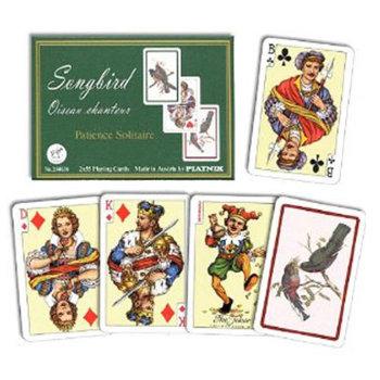 """Пасьянсные карты """"Songbird"""" (Piatnik, две колоды по 55 карт)"""