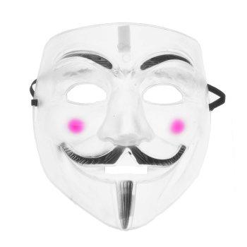 """Карнавальная маска """"Английский заговорщик"""" из пластика"""