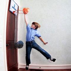 Баскетбольная корзина для белья
