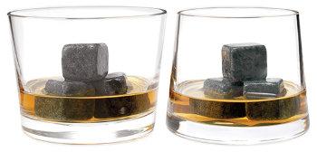 """Камни для виски """"Whisky Stones"""" (9 кубиков, мешочек)"""