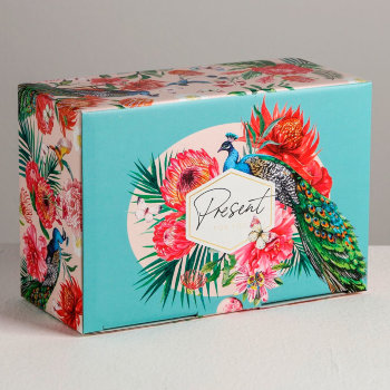 "Подарочная коробка ""Present"" (22 х 15 х 10 см)"