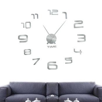 """Настенные часы-наклейка """"Минимализм"""""""