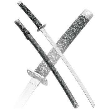 Катана с ножнами под серый мрамор (102 см, подставка в подарок)