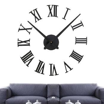 """Настенные часы-наклейка """"Римские цифры"""""""