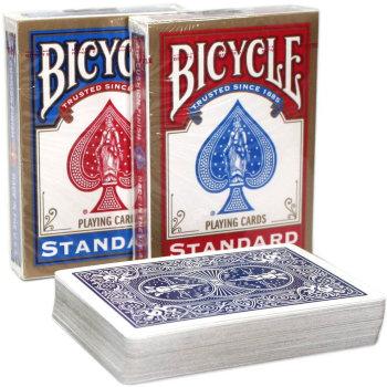 """Игральные карты """"Bicycle Standard"""" (USPCC, 54 карты)"""