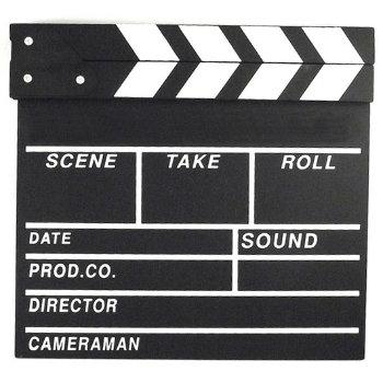 Сувенирная режиссёрская хлопушка для кино (30 х 27 х 2 см)